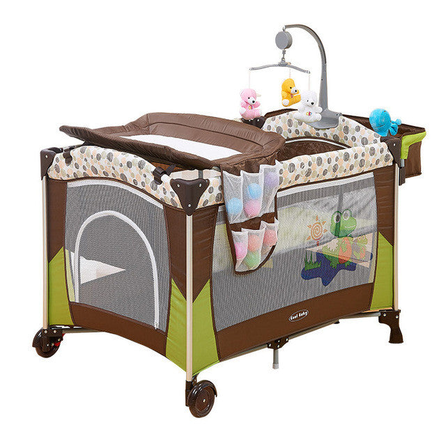 Baby Bed Wieg.Baby Bed Multifunctional Portable Crib For Kids Light Weight