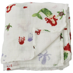 LifeTree Newborn Muslin Blanket For Summer Inflant 120*120cm