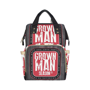 Grown Man Season Diaper Bag By Grown Man Season
