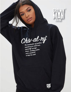 Chivalry Unisex Hoodie By Grown Man Season