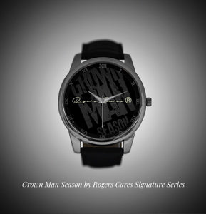 "Grown Man Season ""Rogers Cares Edition"" Men's Watches"