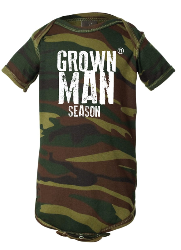Grown Man Season Infant Onesie