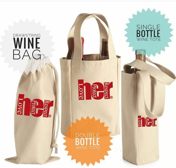 HER Classic Wine Bags