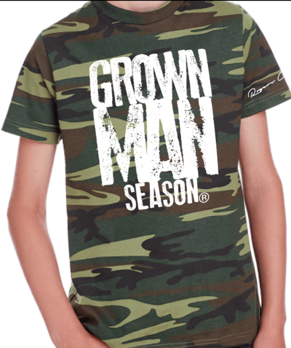 Grown Man Season Youth Tee By Grown Man Season
