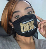HER By Grown Man Season Bling Adult Face Coverings