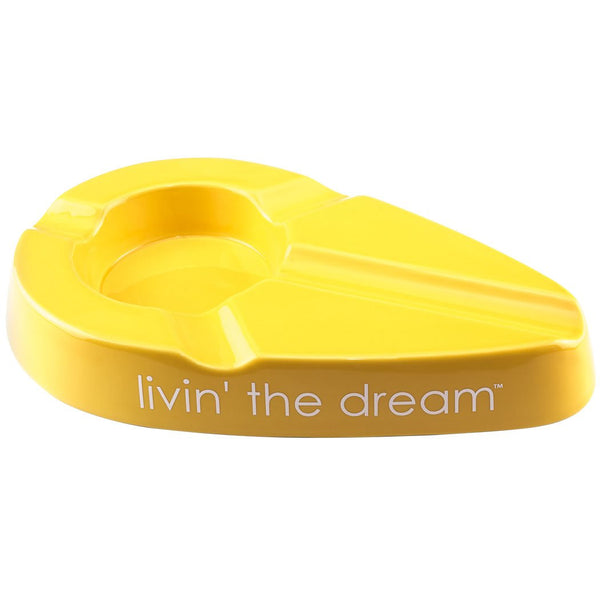 Xikar Livin' the Dream Ashtray - Yellow