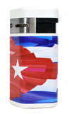 Palio Triple Torch Lighter Cuba Flag