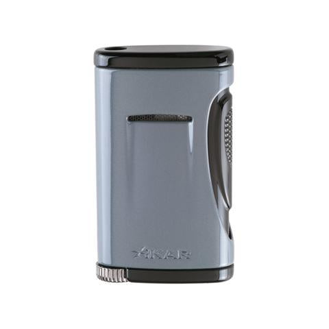 Xikar Xidris Single Lighter - Slate Gray