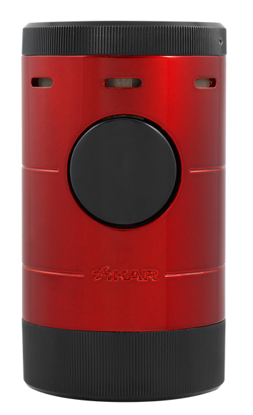 Xikar Volta Quad Tabletop Lighter Daytona Red