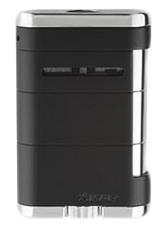 Xikar Allume Tabletop Lighter Black