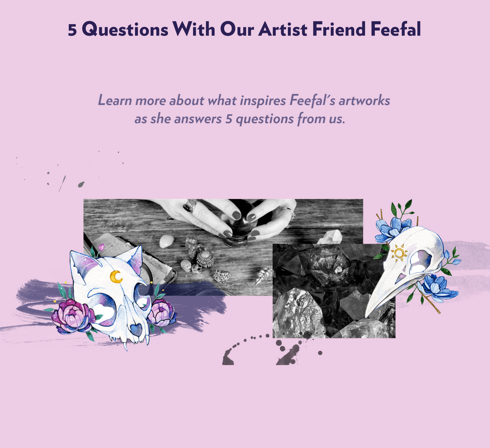 5 Questions With Our Artist Friend Feefal
