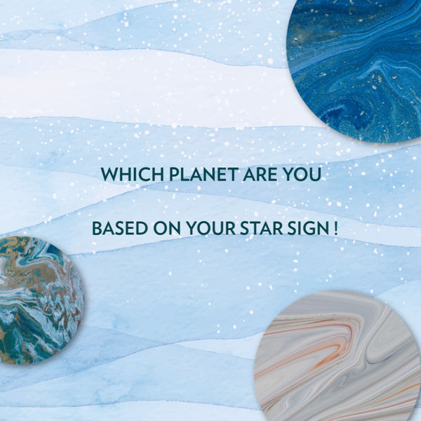 A Thousand Planets - Which Planet Are You Based On Your Star Sign 🌟