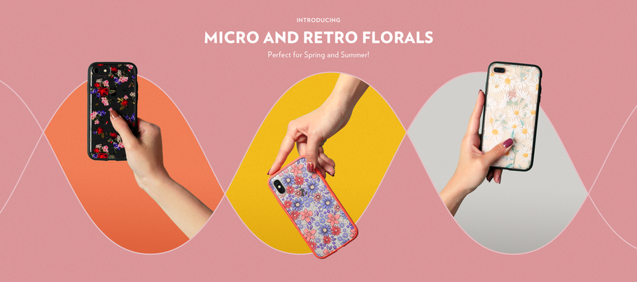 New Designs! Micro And Retro Floral