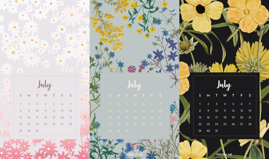 July Wallpapers!