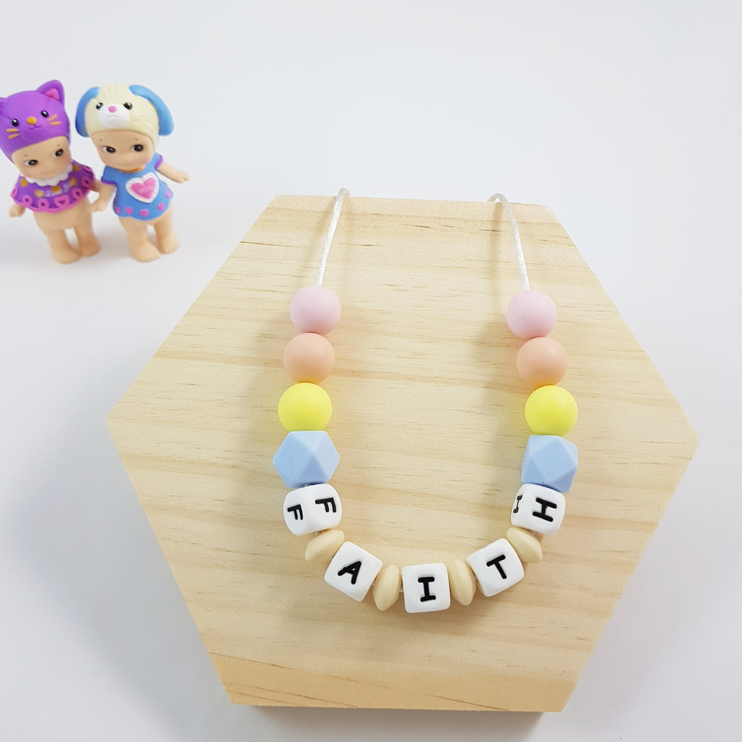 My Name Necklace - OhmyHeartBead