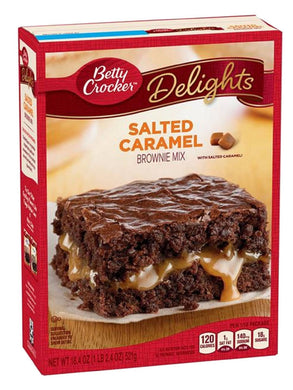 Betty Crocker Salted Caramel Brownie Mix (522g)