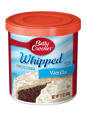 Betty Crocker Whipped Vanilla Frosting (340g)