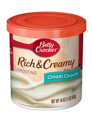 Betty Crocker Rich & Creamy Cream Cheese Frosting (454g)