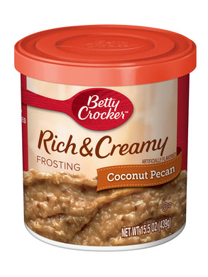 Betty Crocker Rich & Creamy Coconut Pecan Frosting (439g)