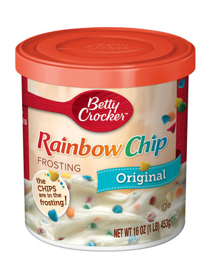 Betty Crocker Rainbow Chip Frosting (340g)