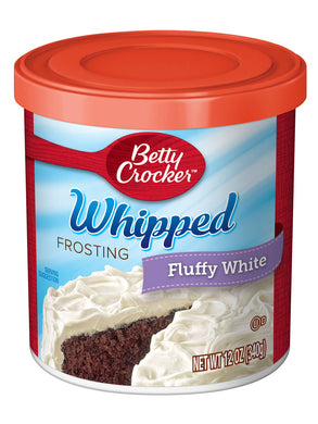 Betty Crocker Whipped Fluffy White Frosting (340g)