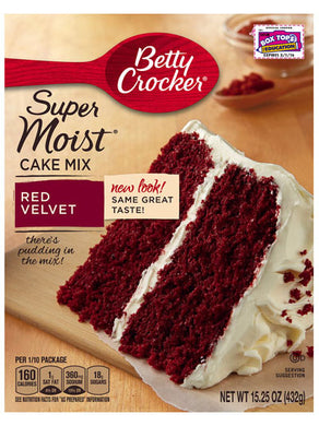 Betty Crocker Red Velvet Cake Mix (432g)