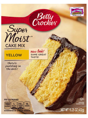 Betty Crocker Yellow Cake Mix (432g)