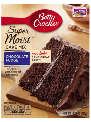 Betty Crocker Chocolate Fudge Cake Mix (432g)