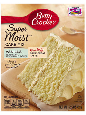 Betty Crocker Vanilla Cake Mix (432g)
