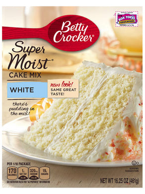 Betty Crocker White Cake Mix (432g)
