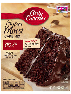 Betty Crocker Devil's Food Cake Mix (432g)