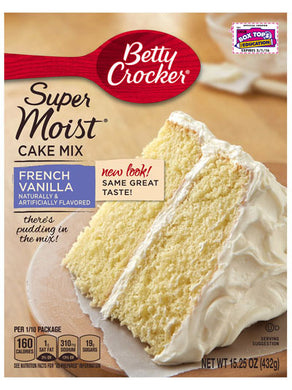 Betty Crocker French Vanilla Cake Mix (432g)