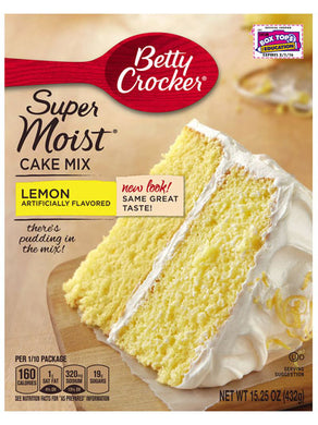 Betty Crocker Lemon Cake Mix (432g)