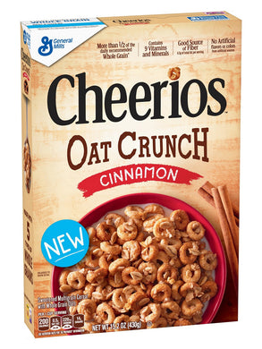 General Mills Cheerios Cinnamon Oat Crunch (431g)