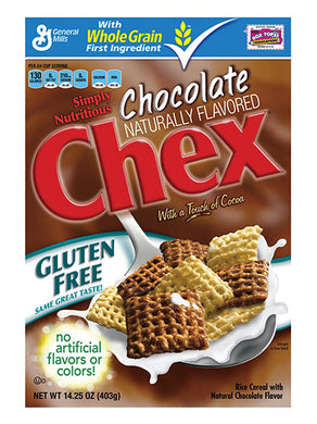 General Mills Chex Chocolate Cereal (404g)