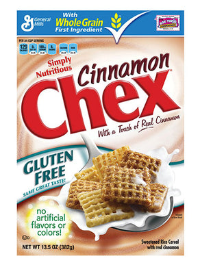 General Mills Chex Cinnamon Cereal (383g)