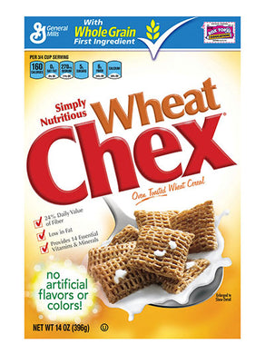 General Mills Chex Wheat Cereal (397g)