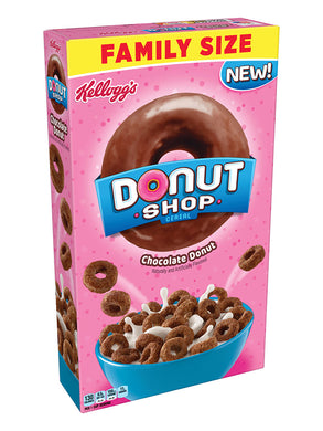 Kellogg's Chocolate Donut Cereal (454g)