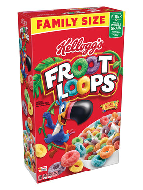 Kellogg's Froot Loops Cereal (550g)