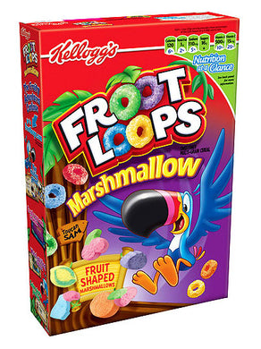 Kellogg's Froot Loops Marshmallow Cereal (357g)
