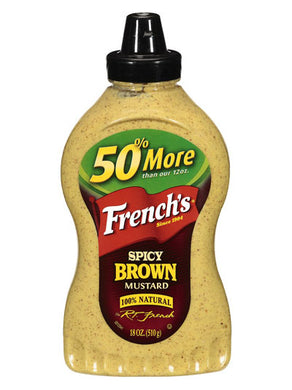 French's Spicy Brown Mustard (510g)