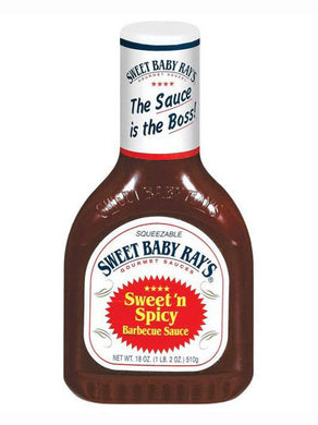 Sweet Baby Ray's Sweet 'N Spicy Barbecue Sauce (532ml)