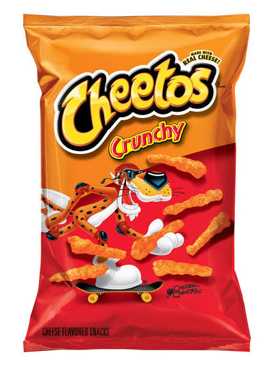 Cheetos Crunchy Cheese Snacks (241g)