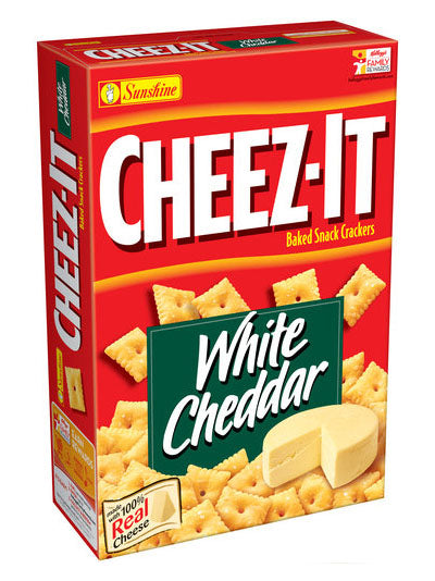 Cheez-It White Cheddar Baked Snack Crackers (352g)