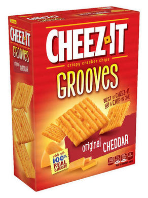 Cheez-It Grooves Original Cheddar Crispy Crackers (255g)