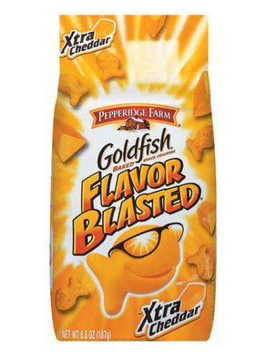 Pepperidge Farm Goldfish Xtra Cheddar Baked Crackers (187g)