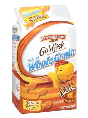 Pepperidge Farm Goldfish Whole Grain Cheddar Crackers (187g)