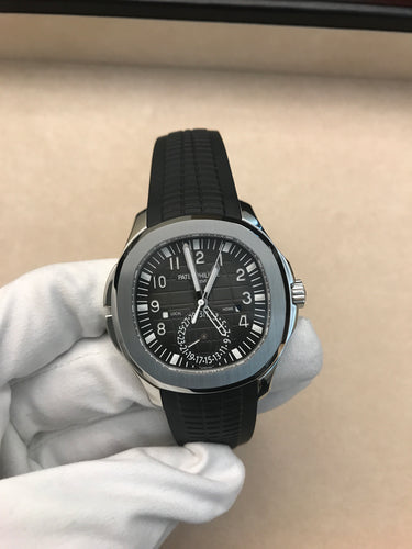 Patek Philippe Aquanaut Travel Time Steel