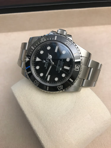 Preloved Rolex Submariner No Date Stainless Steel Oyster band