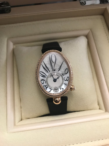 Breguet Reine De Naples Rosegold Mother of Pearl Diamonds